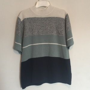 Vintage Mock Neck Sweater Top